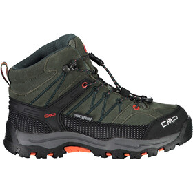 CMP Campagnolo Rigel WP Mid Trekking Shoes Kids muschio-flame